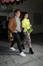 LILY ALLEN Leaves Delilah in West Hollywood 05/16/2019
