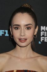 LILY COLLINS at Tolkien Screening at Montclair Film Festival in New Yersey 05/07/2019