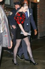 LILY COLLINS Night Out in New York 05/02/2019