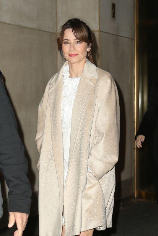 LINDA CARDELLINI Arrives at NBC Studios in New York 04/30/2019