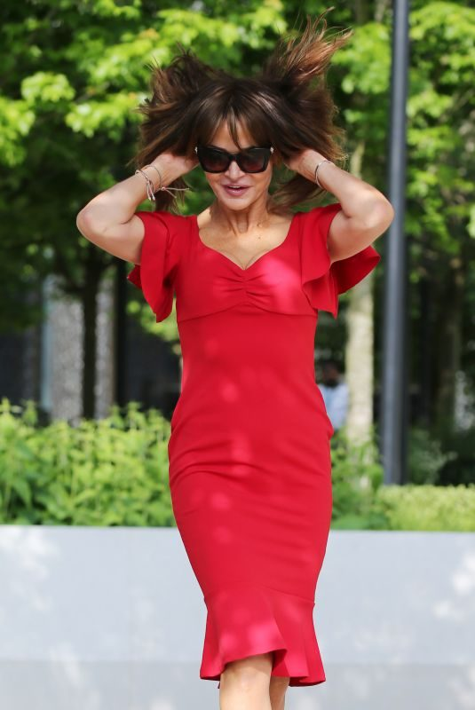 LIZZIE CUNDY at ITV Studios in London 05/24/2019