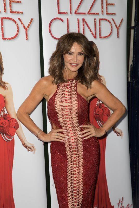 LIZZIE CUNDY at Tales from the Red Carpet Book Launch in London 05/20/2019