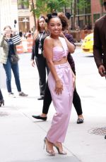 LOGAN BROWNING Arrives at Build Studios in New York 05/23/2019
