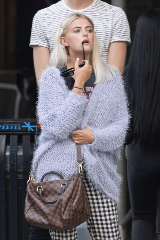 LUCY FALLON Out and About in New York 05/18/2019