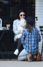 LUCY HALE Out for Coffee in Los Angeles 05/21/2019