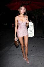 MADISON BEER Leaves Kylie Jenner's Skincare Line Launch in West Hollywood 05/21/2019