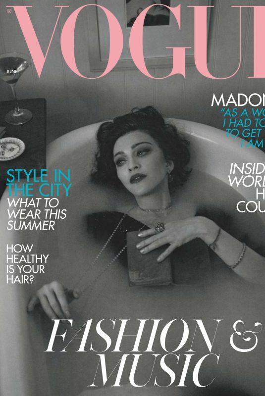 MADONNA in Vogue Magazine, June 2019