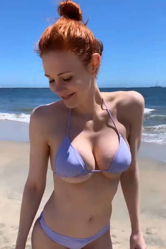 MAITLAND WARD in Bikini at a Beach – Instagram Pictures and Video 05/27/2019