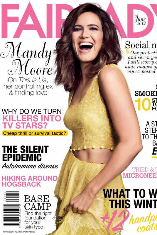 MANDY MOORE in Fairlady Magazine, June 2019