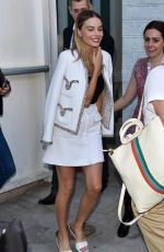 MARGOT ROBBIE Out and About in Cannes 05/22/2019