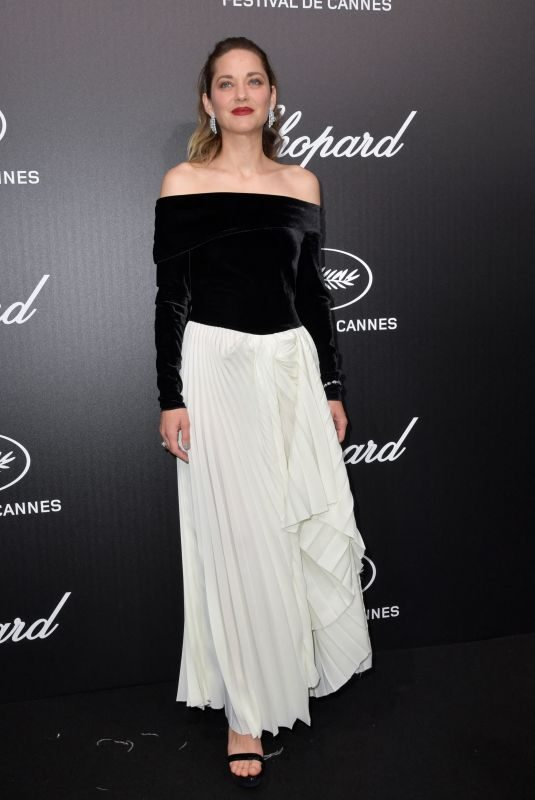 MARION COTILLARD at Official Trophee Chopard Dinner at Cannes Film Festival 05/20/2019