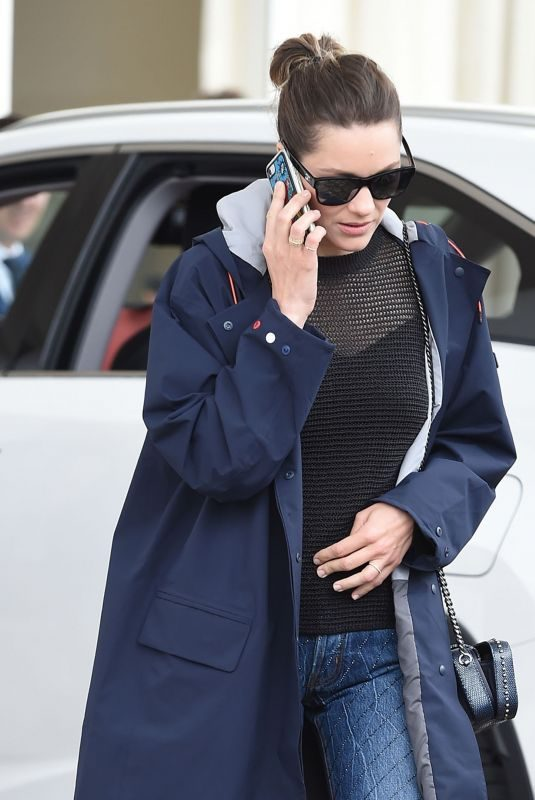 MARION COTILLARD Heading to Hotel Martinez in Cannes 05/21/2019