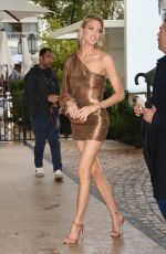 MARTHA HUNT Arrives at Martinez Hotel in Cannes 05/18/2019