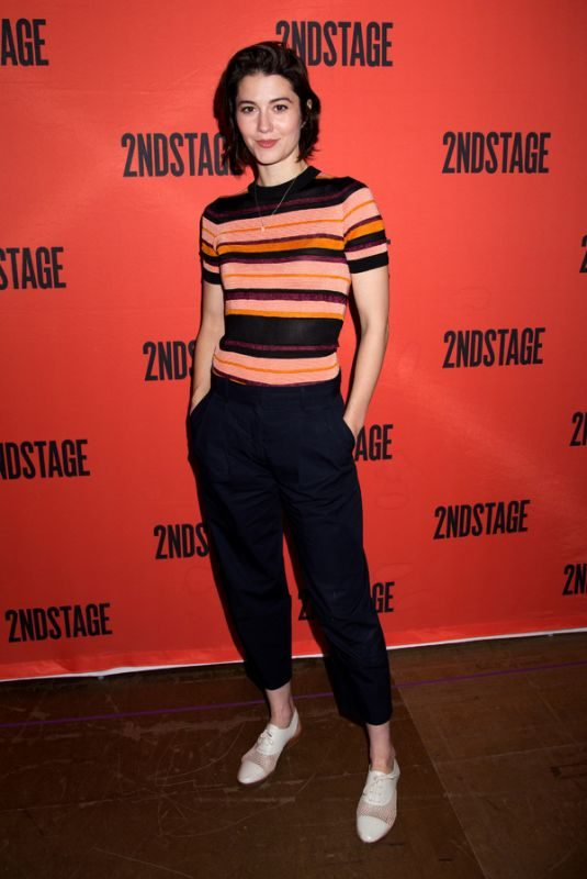 MARY ELIZABETH WINSTEAD at Cast of Dying City Meets the Press in New York 05/07/2019