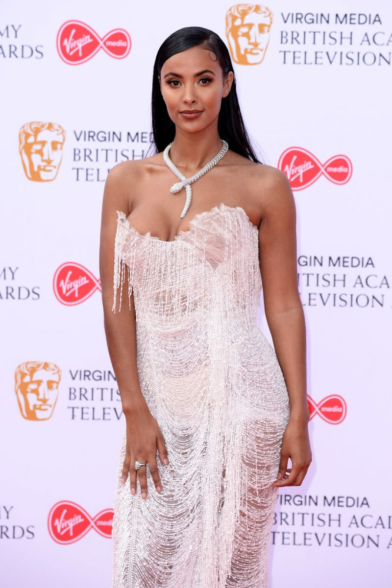 389a6b3cb529 MAYA JAMA at Virgin Media British Academy Television Awards 2019 in London  05 12 2019