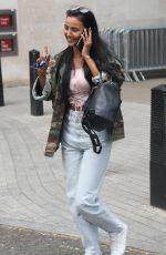 MAYA JAMA Leaves BBC Studios in London 05/02/2019