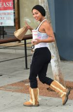 MEAGAN GOOD at a Gym in West Hollywood 05/08/2019