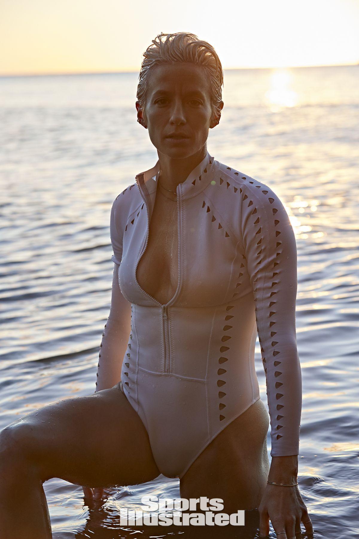 MEGAN RAPINOE in Sports Illustrated Swimsuit 2019 Issue