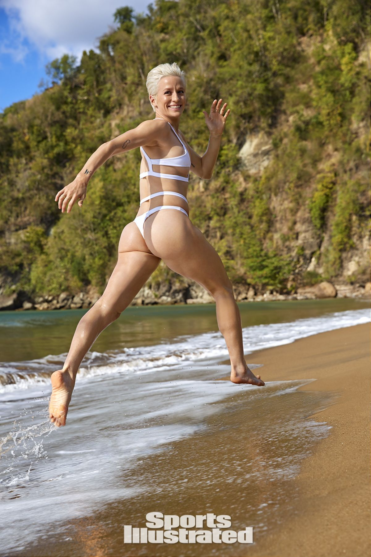 MEGAN RAPINOE in Sports Illustrated Swimsuit 2019 Issue