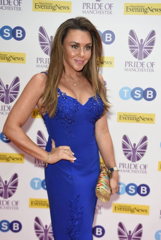 MICHELLE HEATON at Pride of Manchester Awards 2019 05/08/2019