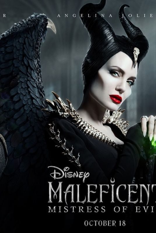 MICHELLE PFEIFFER, ANGELINA JOLIE and ELLE FANNING – Maleficent: Mistress of Evil Poster
