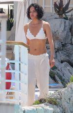 MICHELLE RODRIGUEZ in Bikini at Hotel Du Cap-eden-roc in Cannes 05/22/2019