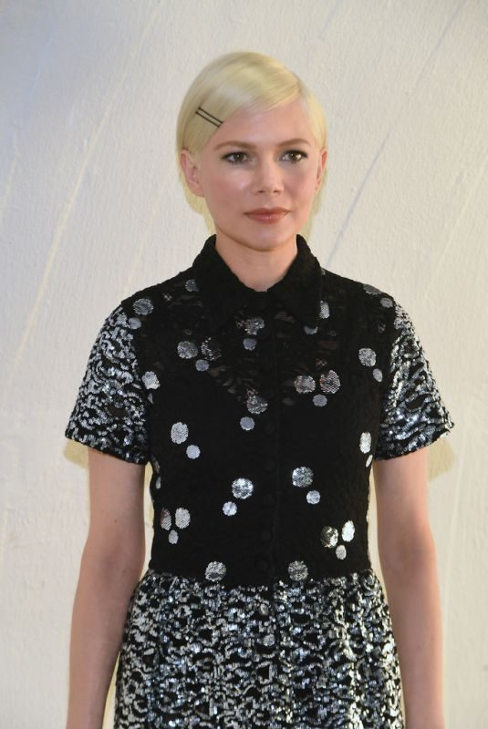 MICHELLE WILLIAMS at Louis Vuitton Cruise 2020 Fashion Show at JFK Airport in New Yokr 05/08/2019