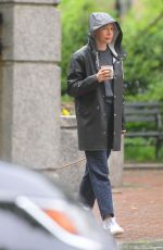 MICHELLE WILLIAMS Out and About with Her Dog in New York 05/23/2019
