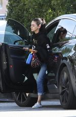 MILA KUNIS Out and About in Los Angeles 05/20/2019