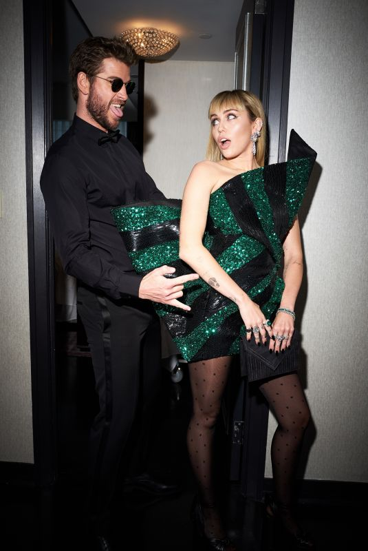 MILEY CYRUS and Liam Hemsworth for Vogue 05/06/2019