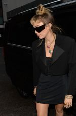 MILEY CYRUS Arrives at Soho Hotel in London 05/26/2019