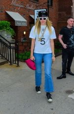 MILEY CYRUS Out and About in New York 05/09/2019