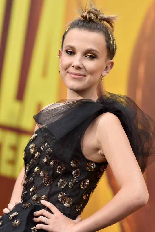 MILLIE BOBBY BROWN at Godzilla: King of the Monsters Premiere in Hollywood 05/18/2019