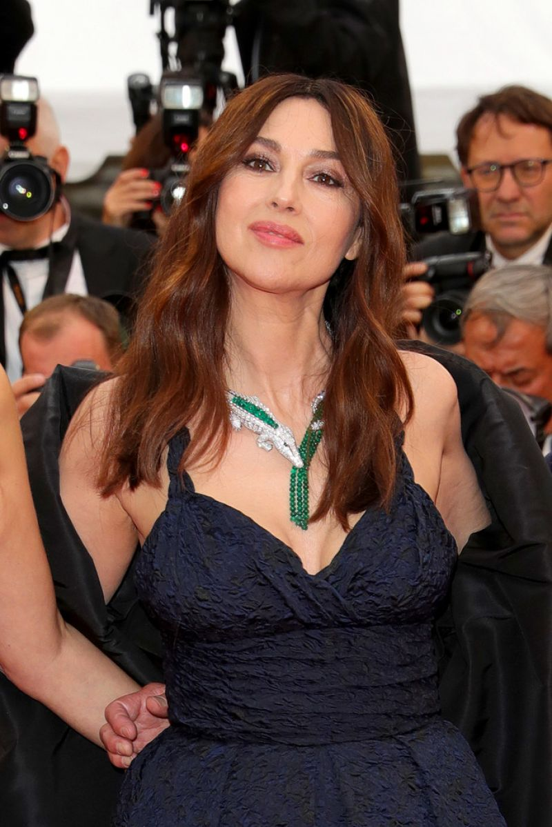 Monica Bellucci At The Best Years Of A Life Screening At