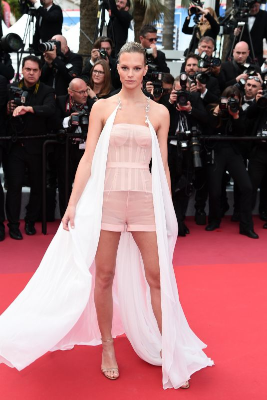NADINE LEOPOLD at Les Miserables Screening at 2019 Cannes Film Festival 05/15/2019
