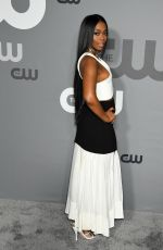 NAFFESSA WILLIAMS at CW Network Upfront Presentation in New York 05/16/2019