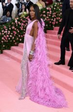 NAOMI CAMPBELL at 2019 Met Gala in New York 05/06/2019