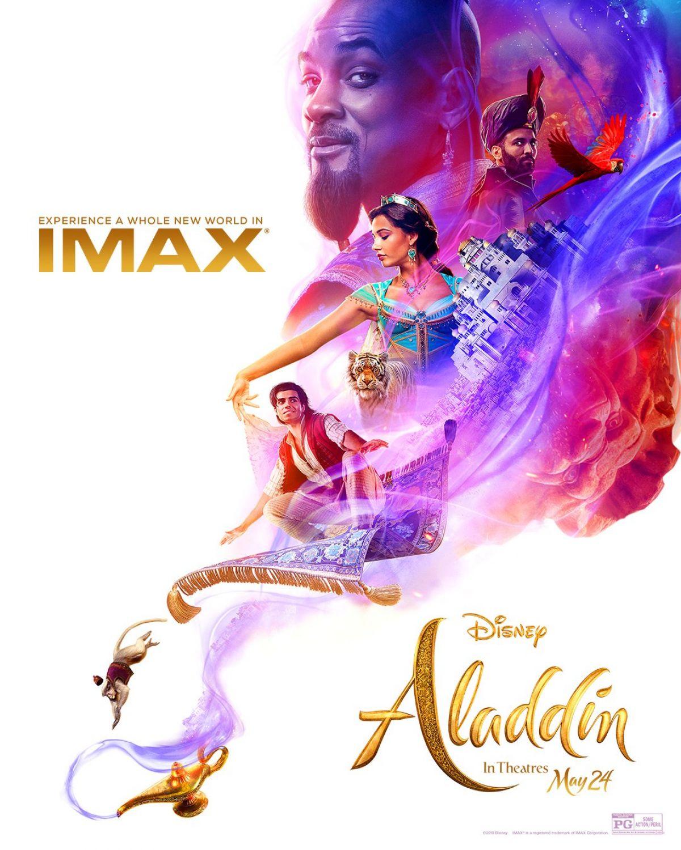 Naomi scott aladdin 2019 posters and trailer hawtcelebs - Aladdin 2019 poster ...