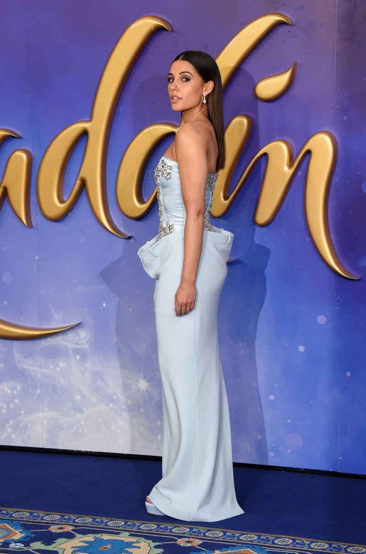 NAOMI SCOTT At Aladdin Gala Screening In London 05092019