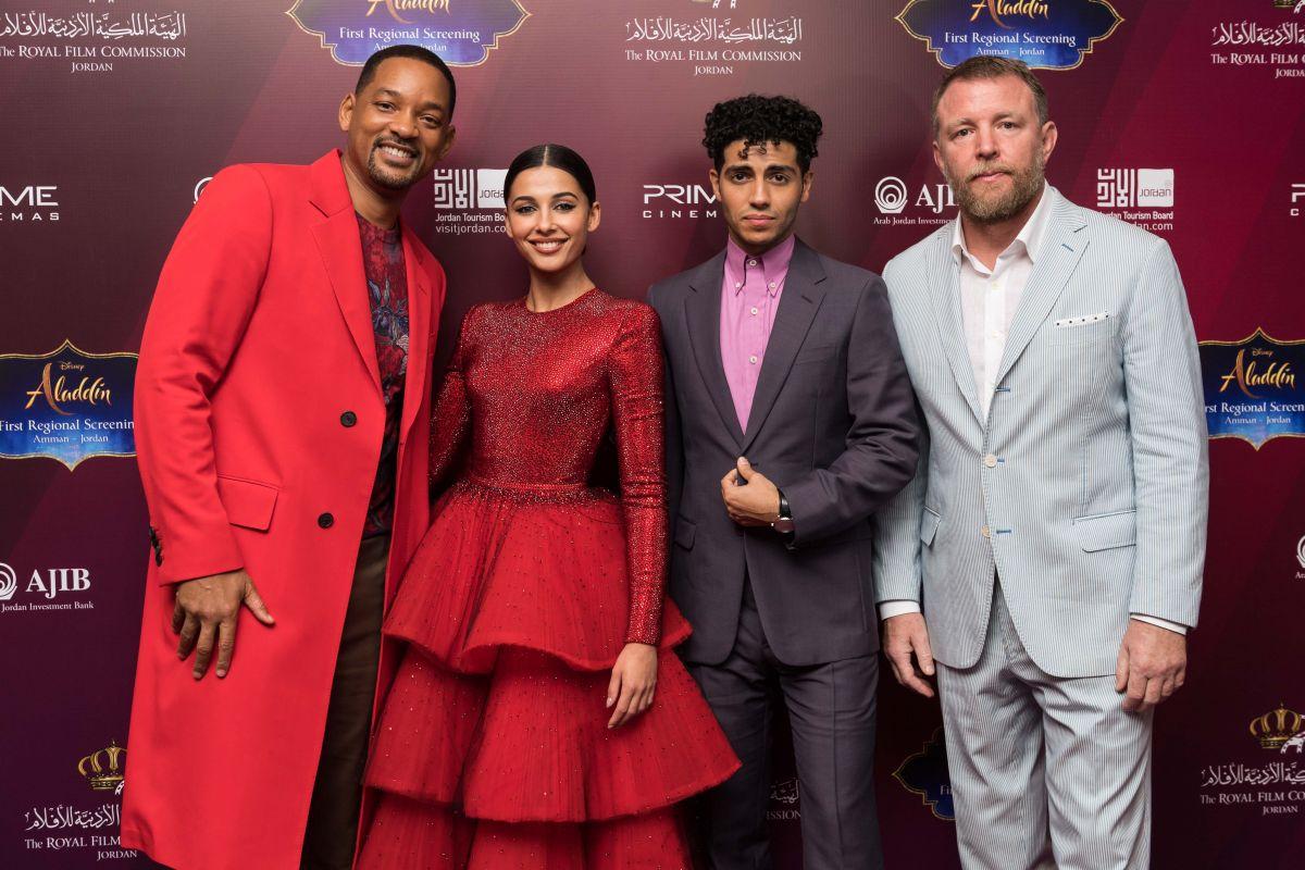NAOMI SCOTT At Aladdin VIP Sscreening With Jordanian Royal
