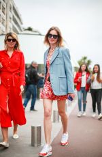 NATALIA VODIANOVA Out on Croisette at Cannes Film Festival 05/19/2019