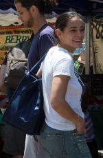NATALIE MARTINEZ Shopping at Farmer