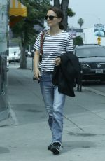 NATALIE PORTMAN Out for Lunch at Crossroads Restaurant in Los Angeles 05/02/2019
