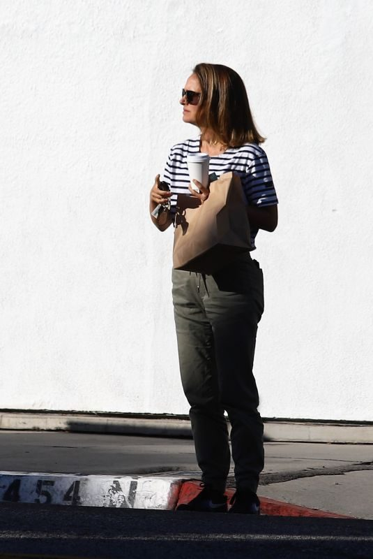 NATALIE PORTMAN Out in Los Angeles 05/29/2019