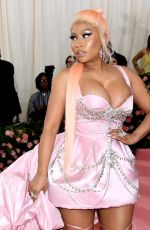NICKI MINAJ at 2019 Met Gala in New York 05/06/2019