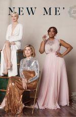 NIECY NASH, EMILIA CLARKE, PATRICIA ARQUETTE, MICHELLE WILLIAMS, CHRISTINE BARANSKI and DANAI GURIRA in The Hollywood Reporter, Drama Actress Roundtable, May 2019