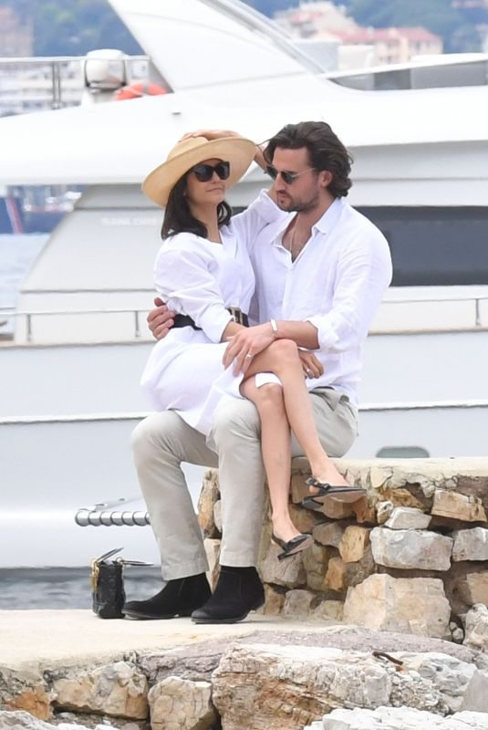 NINA DOBREV and Grant Mellon Out in Cannes 05/21/2019