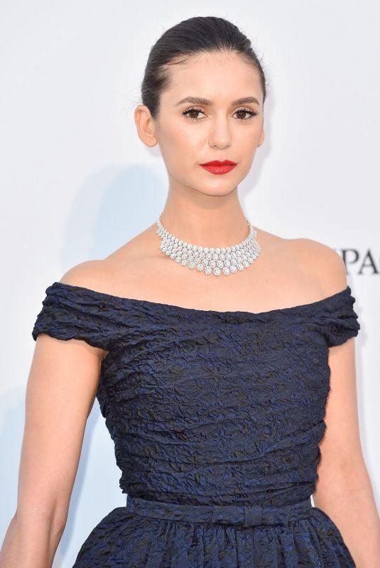 NINA DOBREV at Amfar Cannes Gala 2019 05/23/2019