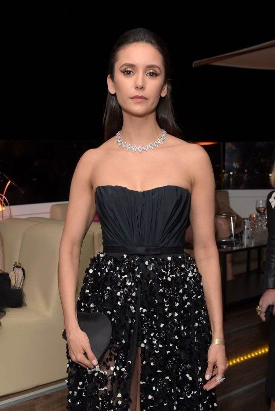 NINA DOBREV at Once Upon a Time in Hollywood Party in Cannes 05/21/2019