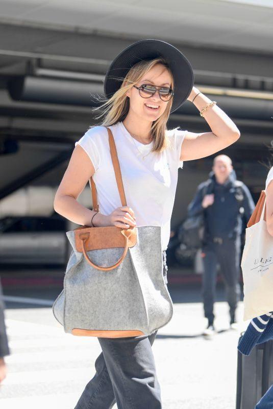 OLIVIA WILDE Arrives at Los Angeles International Airport 05/28/2019